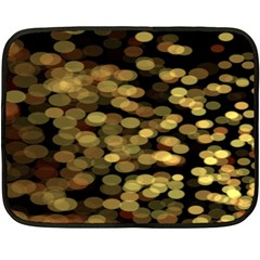 Blurry Sparks Double Sided Fleece Blanket (mini)  by BangZart