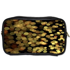 Blurry Sparks Toiletries Bags by BangZart