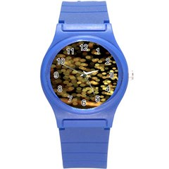Blurry Sparks Round Plastic Sport Watch (s) by BangZart