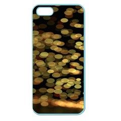Blurry Sparks Apple Seamless Iphone 5 Case (color)