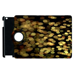 Blurry Sparks Apple Ipad 3/4 Flip 360 Case by BangZart