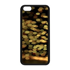 Blurry Sparks Apple Iphone 5c Seamless Case (black)