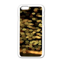 Blurry Sparks Apple Iphone 6/6s White Enamel Case by BangZart