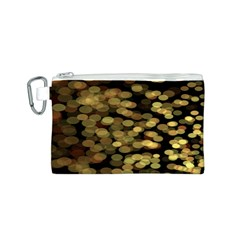 Blurry Sparks Canvas Cosmetic Bag (s) by BangZart