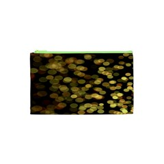Blurry Sparks Cosmetic Bag (xs) by BangZart