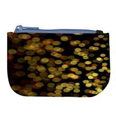 Blurry Sparks Large Coin Purse