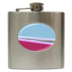 Cracked Tile Hip Flask (6 Oz)
