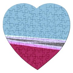 Cracked Tile Jigsaw Puzzle (heart) by BangZart