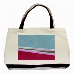 Cracked Tile Basic Tote Bag by BangZart