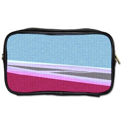 Cracked Tile Toiletries Bags 2 Side by BangZart
