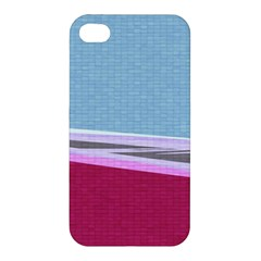 Cracked Tile Apple Iphone 4/4s Premium Hardshell Case by BangZart