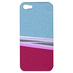 Cracked Tile Apple Iphone 5 Hardshell Case