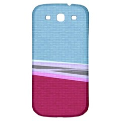 Cracked Tile Samsung Galaxy S3 S Iii Classic Hardshell Back Case by BangZart
