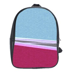 Cracked Tile School Bags (xl)
