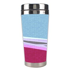 Cracked Tile Stainless Steel Travel Tumblers by BangZart