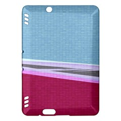 Cracked Tile Kindle Fire Hdx Hardshell Case by BangZart