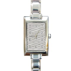 Roof Texture Rectangle Italian Charm Watch