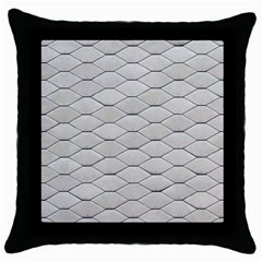 Roof Texture Throw Pillow Case (black)