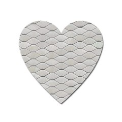Roof Texture Heart Magnet by BangZart