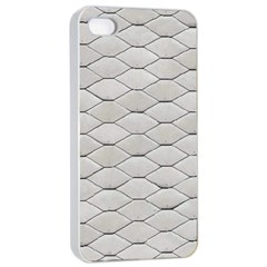 Roof Texture Apple Iphone 4/4s Seamless Case (white) by BangZart