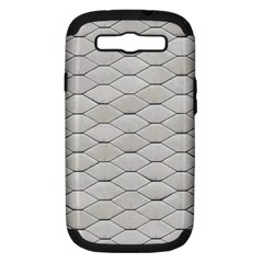 Roof Texture Samsung Galaxy S Iii Hardshell Case (pc+silicone)
