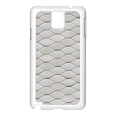 Roof Texture Samsung Galaxy Note 3 N9005 Case (white)