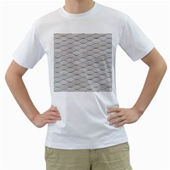 Roof Texture Men s T Shirt (white)