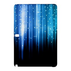 Blue Abstract Vectical Lines Samsung Galaxy Tab Pro 10 1 Hardshell Case