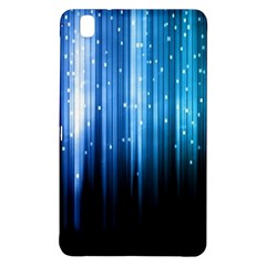 Blue Abstract Vectical Lines Samsung Galaxy Tab Pro 8 4 Hardshell Case