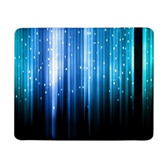 Blue Abstract Vectical Lines Samsung Galaxy Tab Pro 8 4  Flip Case