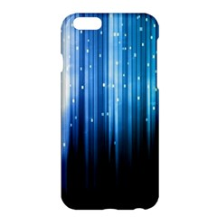 Blue Abstract Vectical Lines Apple Iphone 6 Plus/6s Plus Hardshell Case