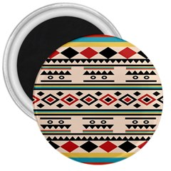 Tribal Pattern 3  Magnets by BangZart