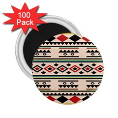 Tribal Pattern 2 25  Magnets (100 Pack)  by BangZart
