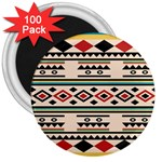 Tribal Pattern 3  Magnets (100 pack) Front