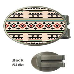 Tribal Pattern Money Clips (oval)  by BangZart