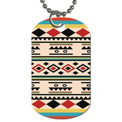Tribal Pattern Dog Tag (two Sides) by BangZart