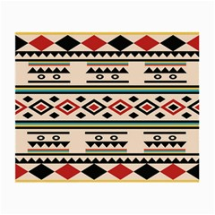 Tribal Pattern Small Glasses Cloth
