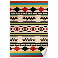 Tribal Pattern Canvas 20  X 30