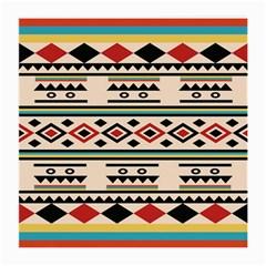 Tribal Pattern Medium Glasses Cloth (2 Side) by BangZart