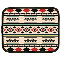 Tribal Pattern Netbook Case (large) by BangZart