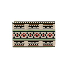 Tribal Pattern Cosmetic Bag (small)  by BangZart