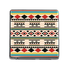 Tribal Pattern Memory Card Reader (square) by BangZart