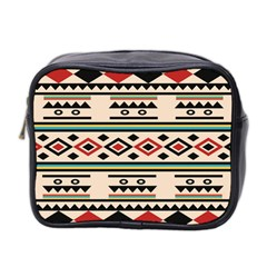 Tribal Pattern Mini Toiletries Bag 2 Side by BangZart