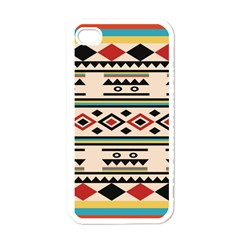 Tribal Pattern Apple Iphone 4 Case (white) by BangZart