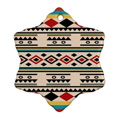 Tribal Pattern Ornament (snowflake)