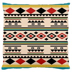 Tribal Pattern Large Cushion Case (one Side) by BangZart