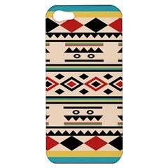 Tribal Pattern Apple Iphone 5 Hardshell Case by BangZart