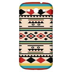 Tribal Pattern Samsung Galaxy S3 S Iii Classic Hardshell Back Case by BangZart