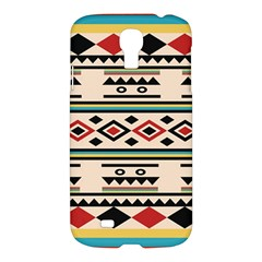 Tribal Pattern Samsung Galaxy S4 I9500/i9505 Hardshell Case by BangZart