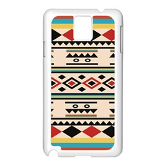 Tribal Pattern Samsung Galaxy Note 3 N9005 Case (white)